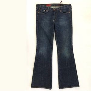 AG Jeans The Club Flare Dark Wash Size 30R 30x33